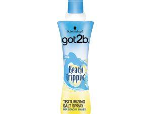 Schwarzkopf Got2B Hair Spray Beach Trippin Spray με Θαλασσινό Αλάτι για Κυματιστά Μαλλιά σαν να Βγήκατε από την Θάλασσα 200ml