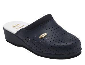 Scholl Shoes Back Guard Σαμπό Μπλε Επαγγελματικά Παπούτσια που Χαρίζουν Σωστή Στάση & Φυσικό Χωρίς Πόνο Βάδισμα 1 Ζευγάρι – 36
