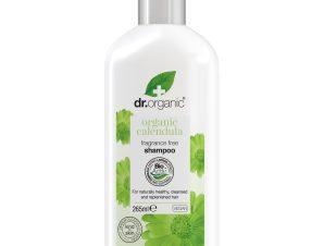 Dr Organic Organic Calendula Shampoo με Καλέντουλα για Μαλλιά Αποτελεσματικά Καθαρά, Όμορφα & Υγιή Χωρίς Ερεθισμούς 265ml