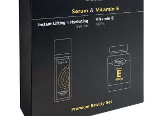 Inalia Πακέτο Προσφοράς Ενυδατικός Ορός Προσώπου 30ml & Δώρο Vitamin E 400iu 20caps