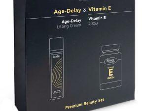 Inalia Πακέτο Προσφοράς Age Delay Αντιρυτιδική Κρέμα Ημέρας 50ml & Δώρο Vitamin E 400iu 20caps