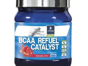 My Elements Sports BCAA Refuel Catalyst Πλήρης Φόρμουλα Αμινοξέων Ιδανική για Αθλητές 300gr – Watermelon