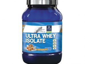My Elements Sports Ultra Whey Isolate Πρωτεΐνη 100% Ορού Γάλακτος 1000gr – Salted Caramel