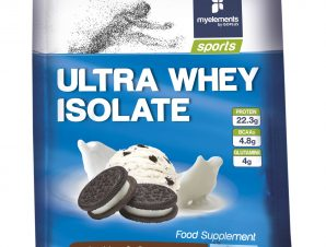 My Elements Sports Ultra Whey Isolate Cookies & Cream Flavor Πρωτεΐνη 100% Ορού Γάλακτος σε Μονοδόση 25gr