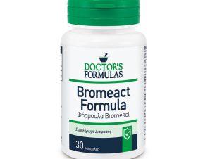 Bromeact 30caps – Doctor's Formulas,Συμπλήρωμα Διατροφής που Συμβάλλει στη Φυσιολογική Λειτουργία του Ανοσοποιητικού Συστήματος