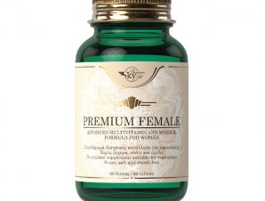 Sky Premium Life Premium Female Συμπλήρωμα Διατροφής, Προηγμένη Φόρμουλα Πολυβιταμινών & Μετάλλων για Γυναίκες 60 Vegtabs