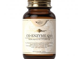 Sky Premium Life Co-Enzyme Q10 30mg Συμπλήρωμα Διατροφής Υψηλής Ποιότητας με Συνένζυμο Q10 με Βιταμίνη Β6 & Βιοτίνη 60Veg.Tabs