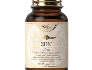 Sky Premium Life Zinc 25mg Συμπλήρωμα Διατροφής με Οργανικό Ψευδάργυρο για Ενίσχυση του Ανοσοποιητικού 60tabs