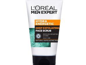 L'Oreal Men Expert Hydra Energetic Face Scrub Προσώπου Ειδικά Σχεδιασμένο για την Ανδρική Επιδερμίδα 100ml