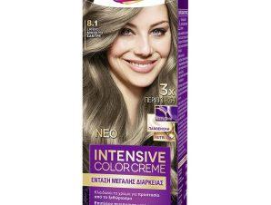 Schwarzkopf Palette Intensive Color Creme Επαγγελματική Μόνιμη Κρέμα Βαφή Μαλλιών, Απόλυτη Κάλυψη & Αποτέλεσμα Διάρκειας – 8.1 Ξανθό Ανοιχτό Σαντρέ
