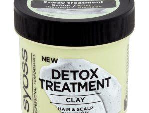 Syoss Detox Clay Treatment Μάσκα Μαλλιών Αποτοξίνωσης για Μαλλιά Καθαρά από τις Ρίζες Έως τις Άκρες 200ml