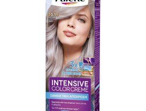 Schwarzkopf Palette Intensive Color Creme Επαγγελματική Μόνιμη Κρέμα Βαφή Μαλλιών, Απόλυτη Κάλυψη & Αποτέλεσμα Διάρκειας – 10.19 Κατάξανθο Ψυχρό Σαντρέ