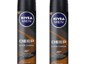Nivea Men Πακέτο Προσφοράς Deep Espresso Deo Spray Ανδρικό Αποσμητικό 48ωρης Προστασίας 2x150ml 1+1 Δώρο