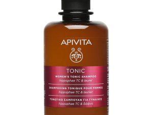 Apivita Women's Tonic Shampoo with Hippophae & Laurel Τονωτικό Σαμπουάν για Γυναίκες Κατά της Τριχόπτωσης 75ml