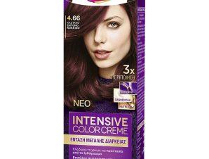 Schwarzkopf Palette Intensive Color Creme Επαγγελματική Μόνιμη Κρέμα Βαφή Μαλλιών, Απόλυτη Κάλυψη & Αποτέλεσμα Διάρκειας – 4.66 Καστανό Έντονο Κόκκινο