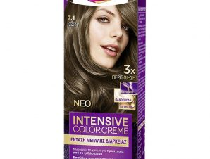 Schwarzkopf Palette Intensive Color Creme Επαγγελματική Μόνιμη Κρέμα Βαφή Μαλλιών, Απόλυτη Κάλυψη & Αποτέλεσμα Διάρκειας – 7.1 Ξανθό Σαντρέ