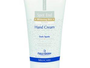 Frezyderm Spot End Hand Cream Spf15 Λευκαντική Κρέμα Χεριών 50ml