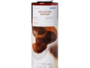 Korres Mountain Pepper Showergel Αρωματικό Αφρόλουτρο με Ενυδατικούς Παράγοντες 250ml