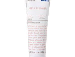 Korres Bellflower Body Milk Ενυδατικό Γαλάκτωμα Σώματος με Λουλουδάτο, Φρουτώδες & Ξυλώδες Άρωμα 125ml