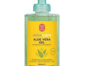 Vican Wise Care Aloe Vera Gel Αλόης Πολλαπλών, Καθημερινών Χρήσεων που Καταπραΰνει, Ενυδατώνει & Προστατεύει 300ml