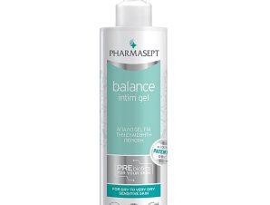 Pharmasept Balance Intim Gel Απαλό Gel Καθημερινής Χρήσης για Υγιεινό Καθαρισμό της Ευαίσθητης Περιοχής 250ml