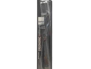 Intermed Professional Ergonomic Toothbrush Medium Επαγγελματική Εργονομική Οδοντόβουρτσα, 1 Τεμάχιο – μαύρο