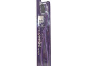 Intermed Professional Ergonomic Toothbrush Medium Επαγγελματική Εργονομική Οδοντόβουρτσα, 1 Τεμάχιο – μωβ