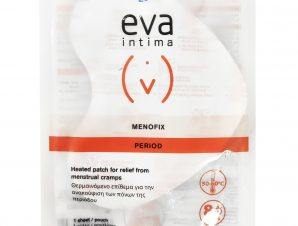 Eva Intima Menofix Θερμαινόμενο Επίθεμα για την Ανακούφιση των Πόνων της Περιόδου 1 Τεμάχιο
