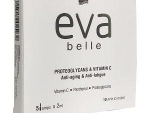 Eva Belle Proteoglycans & Vitamin C Αμπούλες για την Επαναφορά Λάμψης & Όγκου σε Δέρμα με Σημάδια Γήρανσης 5 amps x 2ml