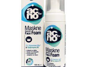 Acnofix Maskne Cleansing Face Foam Αφρός Καθαρισμού Αντιμετώπιση των Επιπτώσεων της Συνεχούς Χρήσης Μάσκας στην Επιδερμίδα 150ml