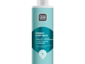 Pharmalead Energy Body Milk Γαλάκτωμα Σώματος για Τόνωση, Αναζωογόνηση & Ενυδάτωση 250ml