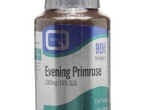 Quest Evening Primrose 1000mg 10%GLA Συμπλήρωμα Διατροφής για την Αντιμετώπιση Προεμμηνορροϊκών Συμπτωμάτων 90caps