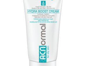 Helenvita ACNormal Hydra Boost Cream Ενυδατική Κρέμα Προσώπου & Λαιμού Χωρίς Σαλικυλικό Οξύ για Λιπαρή Επιδερμίδα 60ml