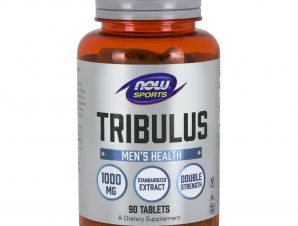 Now Foods Tribulus 1000mg Vegeterian Συμπλήρωμα Διατροφής, Βοηθά στην Υποστήριξη της Υγιούς Παραγωγής Ορμονών 90Tabs