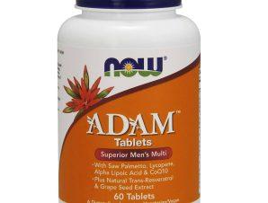 Now Foods Adam™ Men's Multiple Vitamin Πολυβιταμινούχος Φόρμουλα Ειδικά Σχεδιασμένη για τον Άνδρα 60tabs