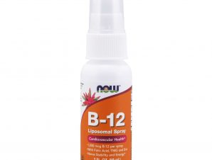 Now Foods Liquid B12 Liposomal Spray Συμπλήρωμα Διατροφής, Βιταμίνη Β-12 Λιποσωμιακής Μορφής για Μεγαλύτερη Απορρόφηση 59ml