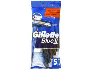 Gillette Blue II Ξυραφάκια Δύο Λεπίδων μιας Χρήσης 5τμχ