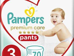 Pampers Premium Care Pants Mega Pack No3 (6-11kg) 70 πάνες