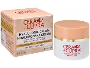 Cera di Cupra Hyaluronic Cream Dry Skin Κρέμα με Υαλουρονικό Οξύ για Ενυδάτωση, Προστασία και Θρέψη 50ml