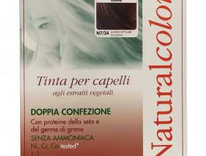 Specchiasol Homocrin Natural Color Φυτική Βαφή Μαλλιών Χωρίς Αμμωνία 1 Τεμάχιο – Ν7/34 Ξανθό Χρυσαφί Χάλκινο