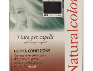 Specchiasol Homocrin Natural Color Φυτική Βαφή Μαλλιών Χωρίς Αμμωνία 1 Τεμάχιο – Ν4/4 Καστανό Χάλκινο
