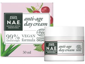 N.A.E. Bellezza Anti-Age Day Cream Αντιγηραντική Κρέμα Ημέρας Εμπλουτισμένη με Υαλουρονικό Οξύ 50ml