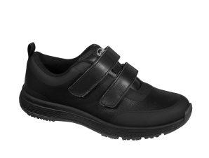Scholl Shoes Energy Plus Double Strap Woman Black Γυναικεία Ανατομικά Παπούτσια Χαρίζουν Φυσικό Χωρίς Πόνο Βάδισμα 1 Ζευγάρι – 41