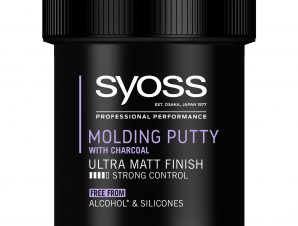Syoss Molding Paste With Charcoal Πάστα Μαλλιών με Άνθρακα για Δυνατό Κράτημα & Ultra Ματ Αποτέλεσμα 130ml