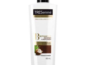 TRESemme Botanique Nourish & Replenish Conditioner Ενυδατική Κρέμα με Έλαιο Καρύδας & Aloe Vera για Ξηρά Μαλλιά 400ml
