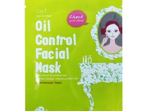 Vican Oil Control Facial Mask με Ειδική Φόρμουλα, Βοηθά στην Καταπράυνση της Επιδερμίδας από Ερεθισμούς και Κοκκινίλες 1 Τεμάχιο