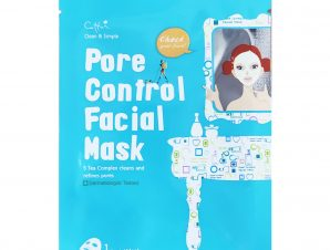 Vican Cettua Pore Control Facial Mask Μάσκα Προσώπου για Καθαρή, Λαμπερή & Φρέσκια Επιδερμίδα, Χωρίς Ορατούς Πόρους 1 Τεμάχιο