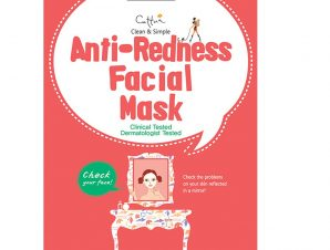 Vican Anti-Redness Facial Mask Μάσκα που Καταπραΰνει την Επιδερμίδα Από τους Ερεθισμούς και Μειώνει τις Κοκκινίλες 1 Τεμάχιο