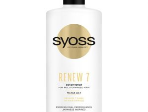 Syoss Renew 7 Conditioner Κρέμα Μαλλιών για Πολύ Ταλαιπωρημένα Μαλλιά 440 ml