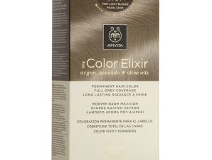 Apivita My Color Elixir Μόνιμη Βαφή Μαλλιών με Καινοτόμο Σύστημα Color Magnet που Σταθεροποιεί και Σφραγίζει το Χρώμα στην Τρίχα – N9.87 ΞΑΝΘΟ ΠΟΛΥ ΑΝΟΙΧΤΟ ΠΕΡΛΕ ΜΠΕΖ